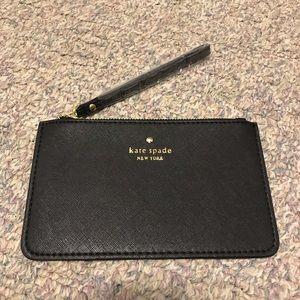 Kate Spade Black Wristlet Wallet